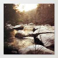Diana In Winter Canvas Print