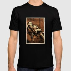 Hamlet Prince of Denmark Black SMALL Mens Fitted Tee