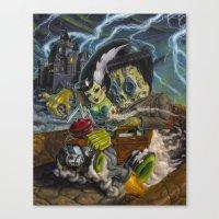 Monster Ride. Canvas Print