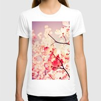 Dialogue With the Sky Womens Fitted Tee White SMALL