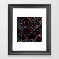 Rainbow Whackadoodle Framed Art Print
