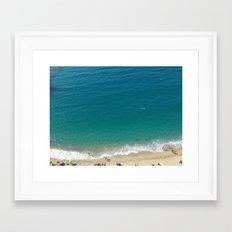 Italian Beach 1 Framed Art Print