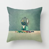 World Is Better Without … Throw Pillow