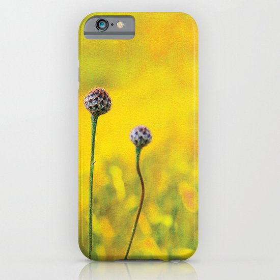 Summer ~ yellow iPhone & iPod Case