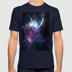 Space Explorer Mens Fitted Tee Navy SMALL