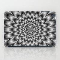 Chrysanthemum in Black and White iPad Case