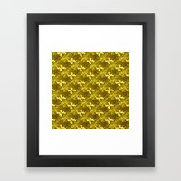 Golden Bows  Framed Art Print