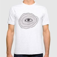 Untitled Mens Fitted Tee Ash Grey SMALL