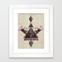 VOICES OF THE FOREST Framed Art Print