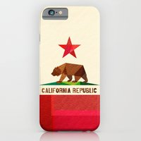 iPhone Cases featuring California by Fimbis