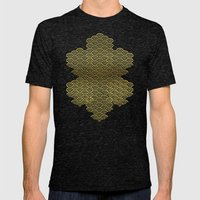 Gold Und Schwarz Mens Fitted Tee Tri-Black SMALL
