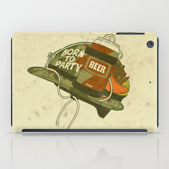 Born to party iPad Case