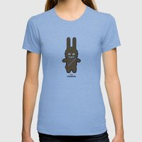 Sr. Trolo / Chewbacca Womens Fitted Tee Athletic Blue SMALL