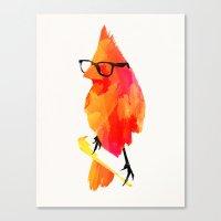 Punk Bird Canvas Print