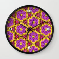 Parade Of The Paramecium Wall Clock