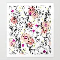 Woodland Shirley Art Print