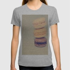 FRENCH INSPIRED Womens Fitted Tee Athletic Grey SMALL