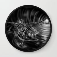 A cry was heard, a light was seen and bodies were found. Wall Clock