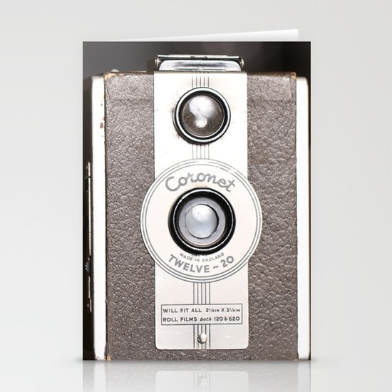 1950 Vintage Coronet twelve-20 twin lens box camera Stationery Card