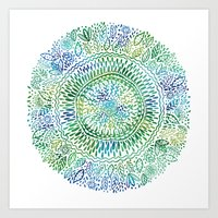 Intricate Nature  Art Print