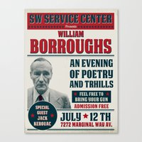Borroughs Event Canvas Print