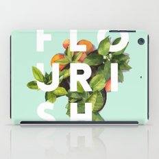 Flourish #society6 #buyart #typography #artprint iPad Case