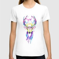 Patronus Harry Potter Womens Fitted Tee White SMALL
