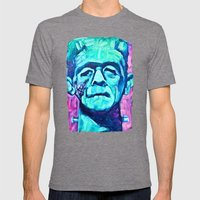 Frankenstein Halloween Z… Mens Fitted Tee Tri-Grey SMALL