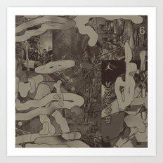 Sidewinder (A Message) Art Print