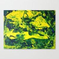 Moss Skin I Canvas Print