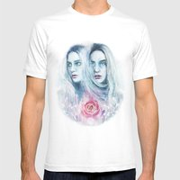 Amaurosis Mens Fitted Tee White SMALL