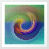 Ocean Wave Number Three Art Print