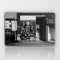 steer art in black and white set 4 Laptop & iPad Skin