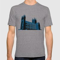 Cathedral Mens Fitted Tee Athletic Grey SMALL