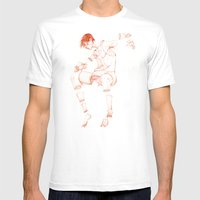 The Beast Inside 1 Mens Fitted Tee White SMALL