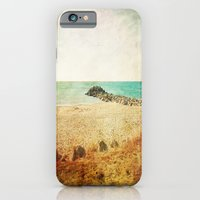 iPhone & iPod Case featuring Beach in southern France - summer memories by 2b2dornot2b