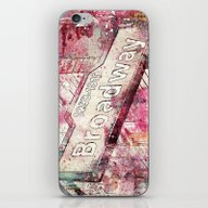 iPhone & iPod Skin featuring Broadway by LebensART