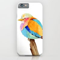 iPhone & iPod Case featuring Lilac Breasted Roller by Krystal Nicole