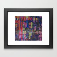 A Party In The Park Framed Art Print