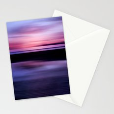 Beach Abstract Stationery Cards