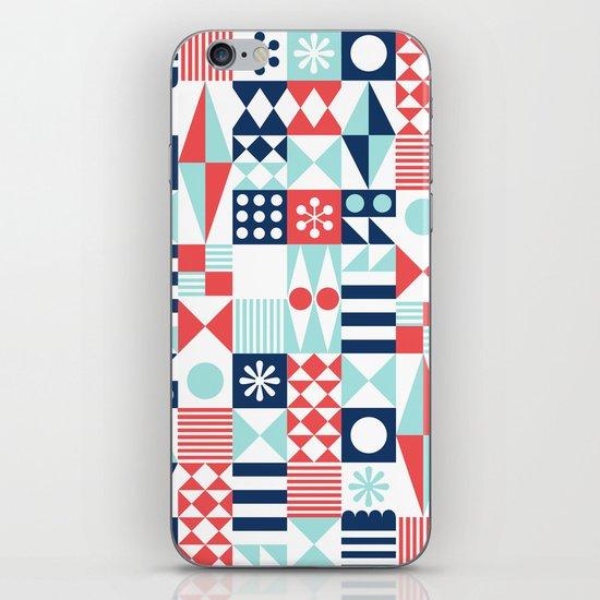 Tradewinds navy iPhone & iPod Skin