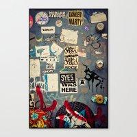 The Door - Williamsburg, Brooklyn, NYC Canvas Print