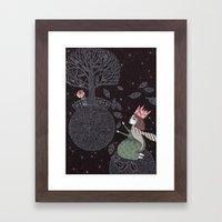 Five Hundred Million Lit… Framed Art Print