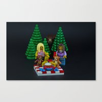 Teddy Bears Picnic Canvas Print