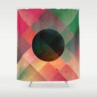 Cyntyyr Shower Curtain