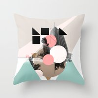Locals Only - London - UK Throw Pillow