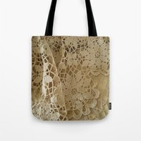 Old Lace Tote Bag
