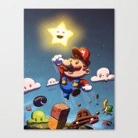 Super Brother Canvas Print