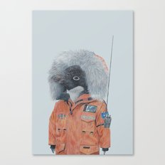 Antarctic Penguin Canvas Print