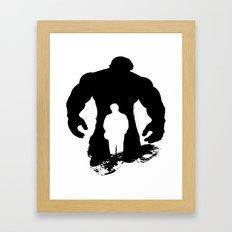 Hulk-Bruce Banner Framed Art Print